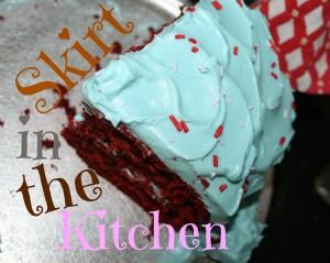 Balsamic Red Velvet Cake