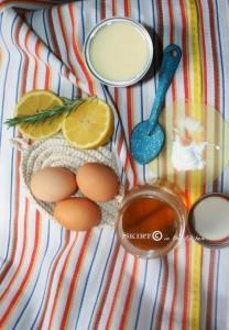 Lemon-Rosemary Quinoa Crepes with Vanilla Vodka