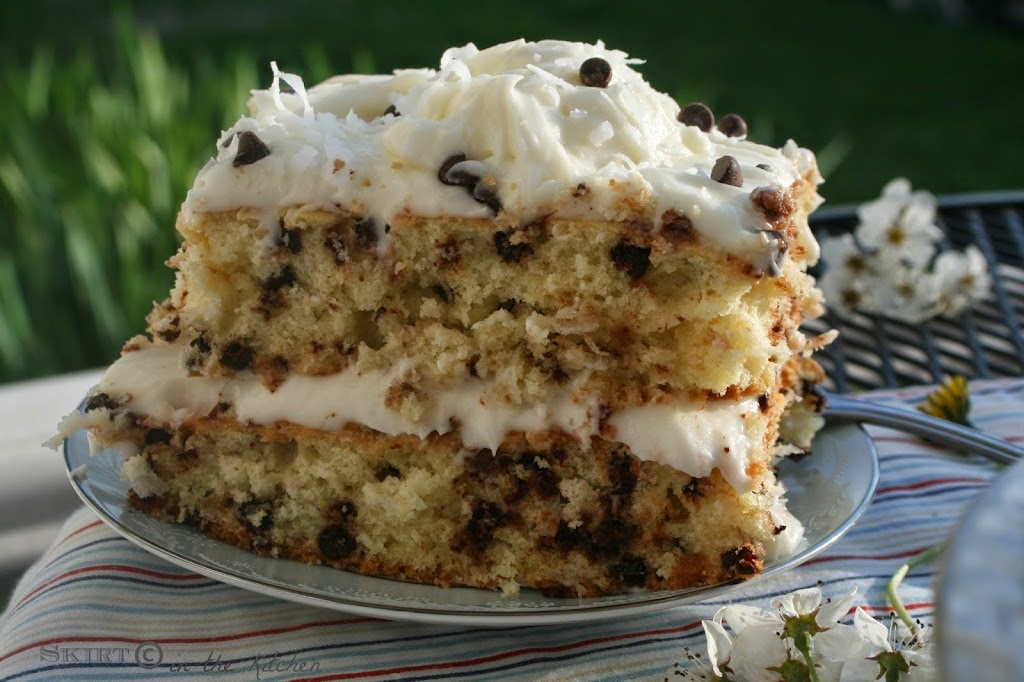 Apple Cake With Chocolate Chip And