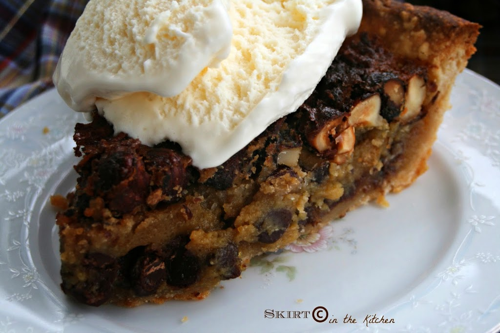 Bourbon Hazelnut Pie with a Mesquite Barbecue Potato Chip Crust ...