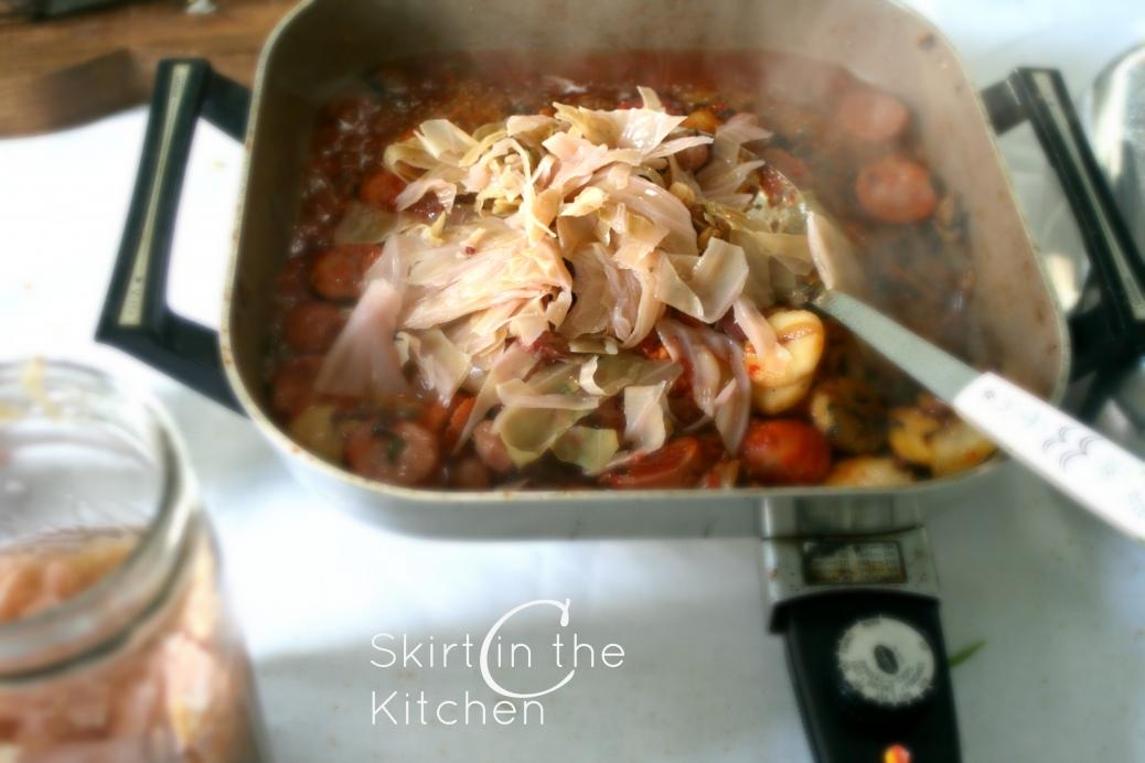 IMG_5205 Tarragon Spaghetti Kraut
