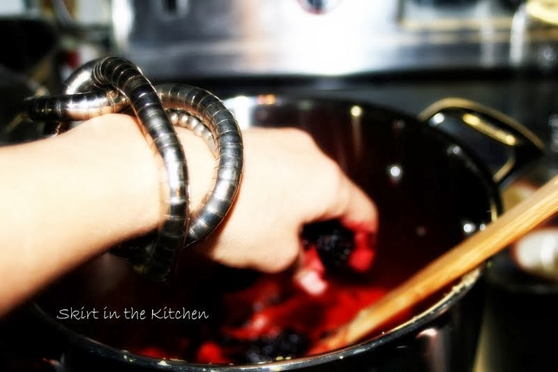 Blackberry bracelet bangle