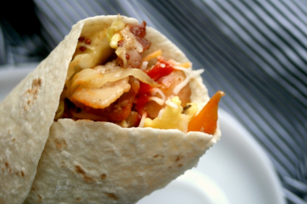 Cabbage Breakfast Wraps