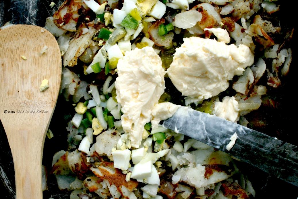 IMG_1723 Fried Potato Salad
