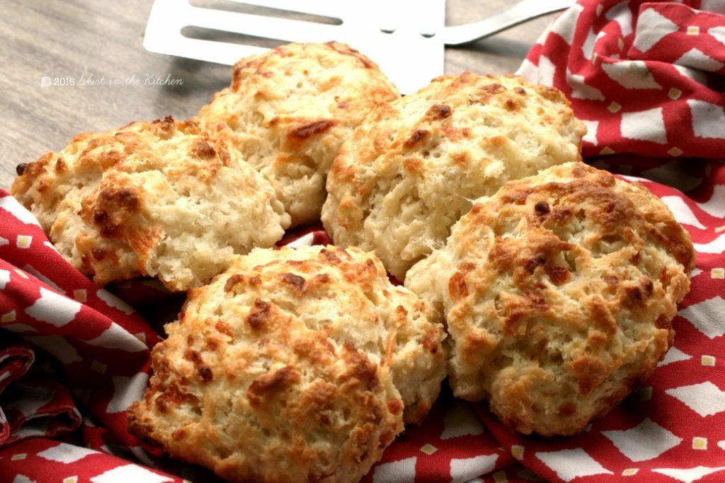 Five-Batch Mozzarella Biscuits