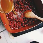 Citron Bourbon Cranberry Relish