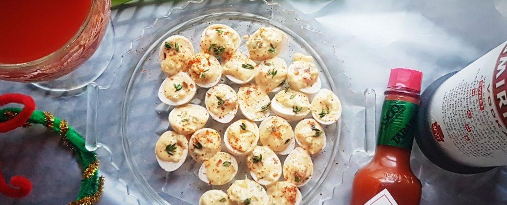 Stuffed Quail Eggs